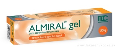 ALMIRAL gel gel (tuba Al) 1x50 g