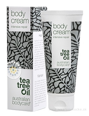 ABC tea tree oil BODY CREAM - Krém ruky nohy telo intenzívny 1x100 ml