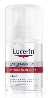 Eucerin Deo Intenzívny antiperspirant sprej 1x30 ml