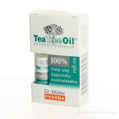 Dr. Müller Tea Tree Oil 100% čistý ROLL-ON olej 1x4 ml
