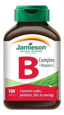 JAMIESON B-KOMPLEX S VITAMÍNOM C tbl 1x100 ks