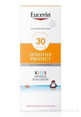 Eucerin SUN SENSITIVE PROTECT SPF 30 detské mlieko na opaľovanie s ochrannými mikropigmentmi 1x150 ml