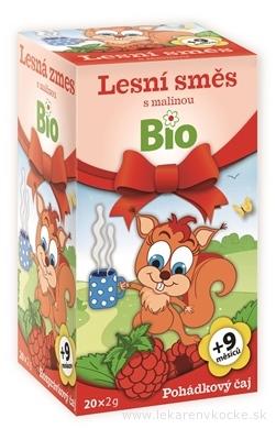 APOTHEKE ROZPRÁVKA Lesná zmes s malinou Bio ovocný čaj (od ukončeného 9. mesiaca) 20x2 g (40 g)