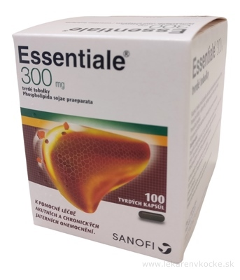 Essentiale 300 mg (Essentiale forte N) cps dur 1x100 ks
