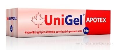 UniGel APOTEX hydrofilný gél 1x30 g