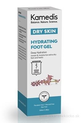 Kamedis DRY SKIN HYDRATING FOOT GEL hydratačný gél na nohy 1x100 ml