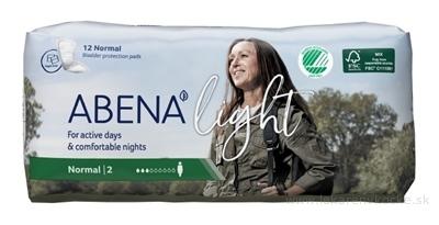 ABENA Light Normal 2 absorpčné vložky, priedušné, savosť 350 ml 1x12 ks