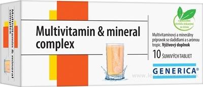 GENERICA Multivitamin & mineral complex tbl eff 1x10 ks