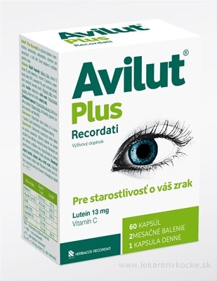 AVILUT Plus Recordati cps 1x60 ks