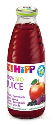 HiPP BIO Šťava z červených plodov (od ukonč. 4. mesiaca) 1x500 ml