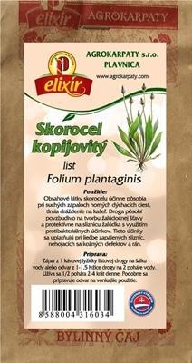 AGROKARPATY SKOROCEL KOPIJOVITÝ list bylinný čaj 1x30 g