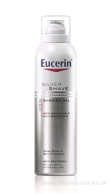 Eucerin Silver Shave gel na holení 150 ml