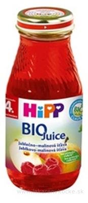 HiPP BIO Jablkovo - malinová ŠŤAVA (od ukončeného 4. mesiaca) 1x200 ml