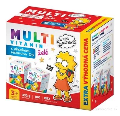 Revital MULTIVITAMÍN The Simpsons želé (výhodná cena) 2x50 (100 ks)
