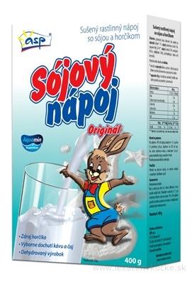 asp SÓJOVÝ NÁPOJ Originál (Zajac) sušený 1x400 g