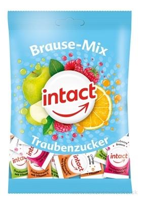 INTACT Brause - Mix Hroznový cukor s vitamínom C šumivé pastilky 1x100 g
