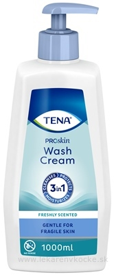 TENA UMÝVACÍ KRÉM (Wash Cream) 1x1000 ml