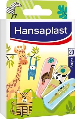 Hansaplast ZVIERATKÁ náplasť detská, stripy 1x20 ks