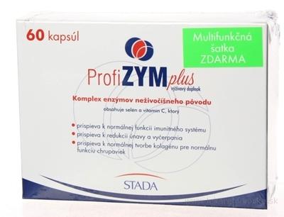 ProfiZYM Plus + darček cps 60 ks + multifunkčná šatka, 1x1 set