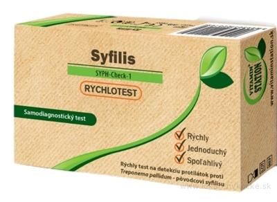 VITAMIN STATION Rýchlotest Syfilis samodiagnostický test z krvi, 1x1 set
