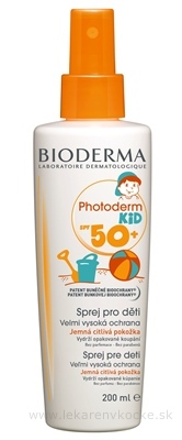 BIODERMA PHOTODERM KID SPF50+ sprej (inov. 2014), 1x200 ml