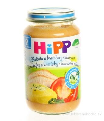 HiPP Príkrm Rajčiny, zemiaky a kura Junior menu (od ukonč. 9. mesiaca) 1x220 g