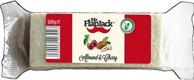 Mr.FlapJack Mandľa - Čerešňa Ovsená tyčinka 1x120 g