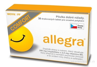 allegra COMFORT tbl 1x30 ks