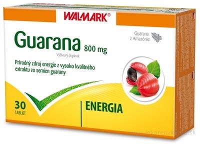 WALMARK GUARANA 800 mg tbl 1x30 ks