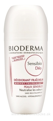 BIODERMA Sensibio DÉO DEODORANT roll-on 1x50 ml