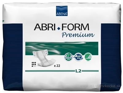ABENA ABRI FORM Premium L2 plienkové nohavičky priedušné, boky 100-150 cm, savosť 3100 ml, 1x22 ks