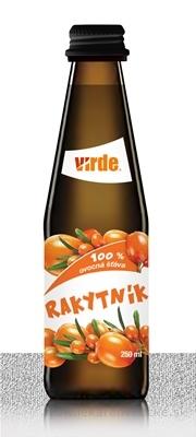 VIRDE RAKYTNÍK 100 % ovocná šťava 1x250 ml