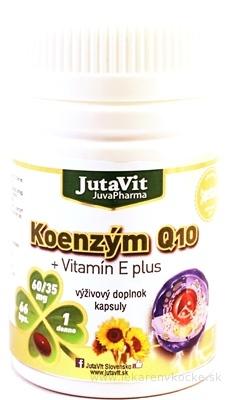 JutaVit Koenzým Q10 + vitamín E plus cps 1x66 ks