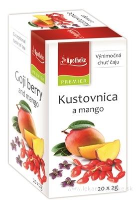 APOTHEKE PREMIER SELECTION Kustovnica a mango 20x2 g (40 g)