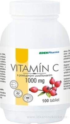EDENPharma VITAMÍN C 1000 mg tbl s postupným uvoľňovaním 1x100 ks