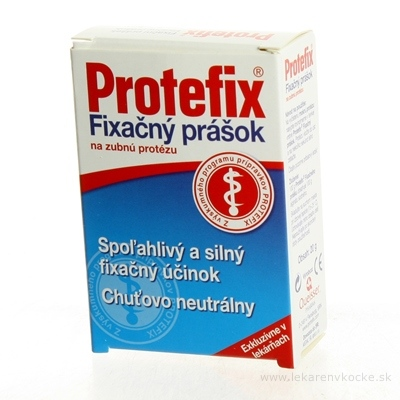 Protefix Fixačný prášok na zubnú protézu 1x20 g