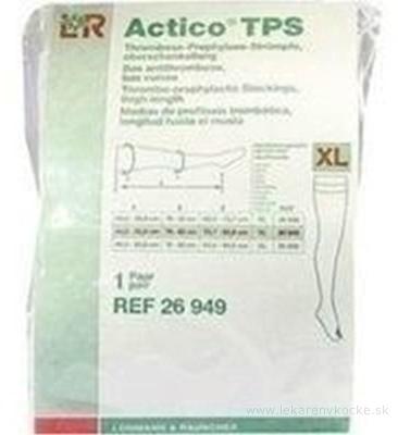 ACTICO TPS XL NORMAL elastické pančuchy stehenné 1x1 pár