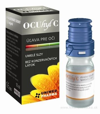 OCUhyl C umelé slzy 1x10 ml
