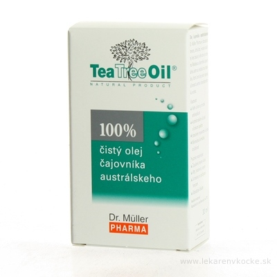 Dr. Müller Tea Tree Oil 100% čistý olej 1x30 ml