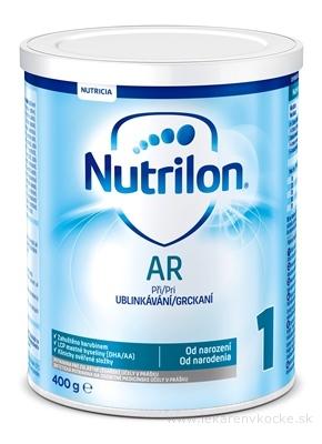 Nutrilon 1 AR mliečna výživa v prášku (od narodenia) 1x400 g