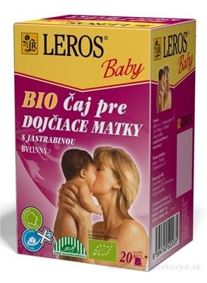 LEROS BABY BIO ČAJ PRE DOJČIACE MATKY s jastrabinou 20x2 g (40 g)