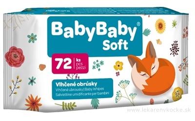 BabyBaby Soft Vlhčené obrúsky 1x72 ks