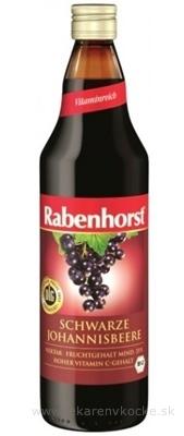 Rabenhorst šťava z čiernych ríbezlí 1x750 ml