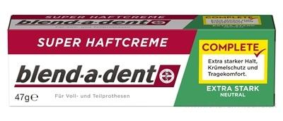 blend-a-dent EXTRA STARK NEUTRAL complete super fixačný dentálny krém 1x47 g
