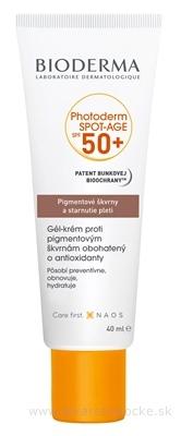 BIODERMA Photoderm SPOT-AGE SPF 50+ gél - krém (Pigmentové škvrny a starnutie pleti) 1x40 ml
