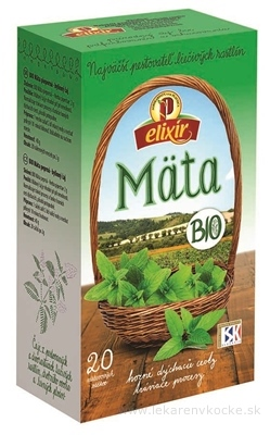 AGROKARPATY BIO Mäta pieporná bylinný čaj, čistý prír. produkt, 20x2 g (40 g)
