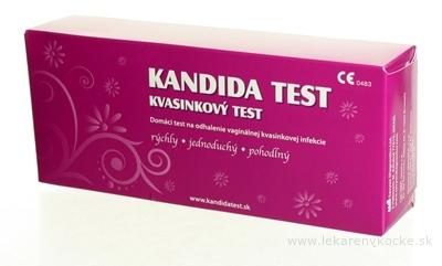KANDIDA TEST samodiagnostika kandidózy (pre ženy) 1x1 ks