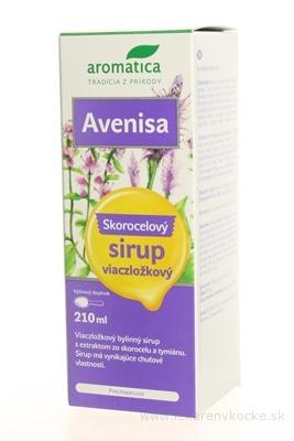 aromatica AVENISA Skorocelový sirup viaczložkový 1x210 ml