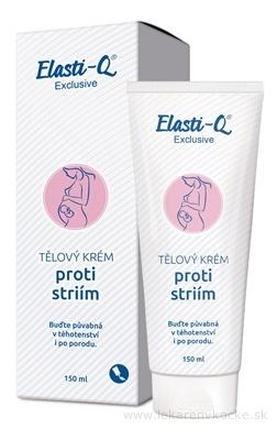 Elasti-Q Exclusive (inov.15) telový krém proti striam 1x150 ml