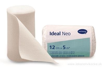 Ideal Neo ovínadlo pružné, krátkoťažné 12 cm x 5 m, nesterilné, 1x1 ks